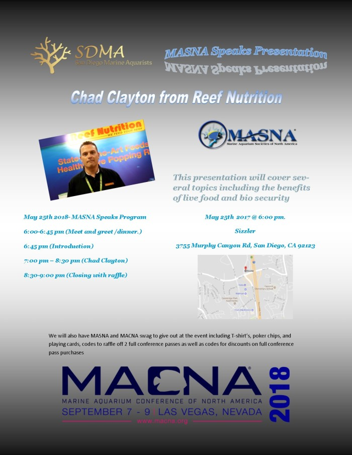 MASNA Speaks flyer